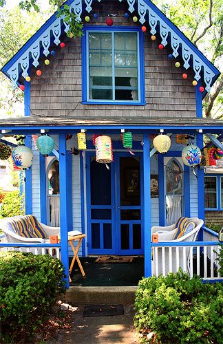 The cutest of them all in Oak Bluffs, Martha's Vineyard.