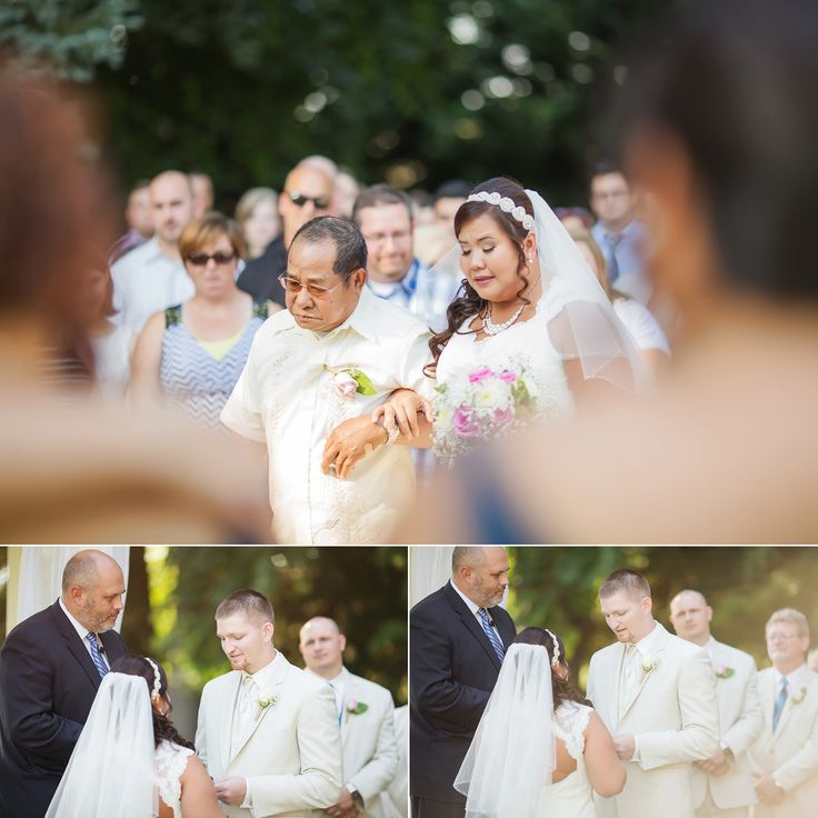 Walking Down The Aisle To Be Given Away By Your Dad Wedding Photography At Yellow
