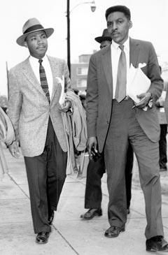 Dr. Martin Luther King Jr. and Bayard Rustin ~ While A. Philip Randolph headed the March on Washington for Jobs and Freedom, Bayard Rustin was the CHIEF ORGANIZER.