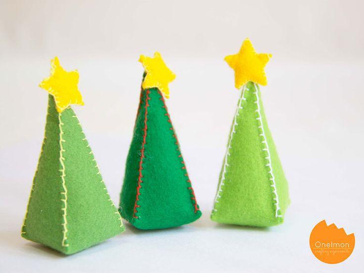DIY: mini christmas tree