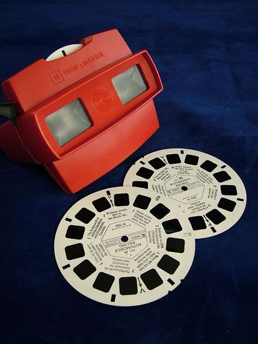 The viewmaster, I still have one of these!
