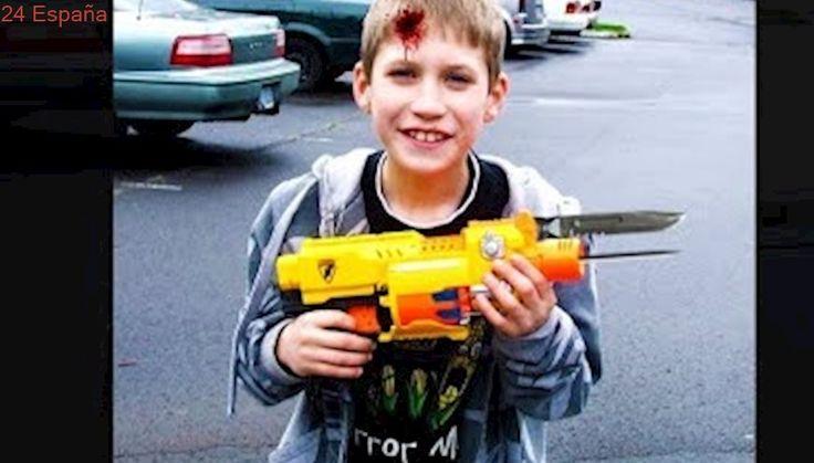 niño construye pistola nerf gun muy peligrosa, termina mal..