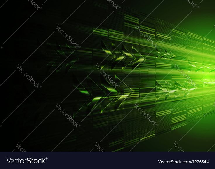 Dark green motion design with arrows. Vector tech background eps 10. Download a Free Preview or High Quality Adobe Illustrator Ai, EPS, PDF and High Resolution JPEG versions.