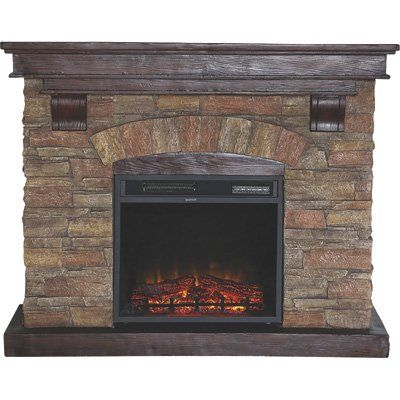 Best 25 Electric Fireplace With Mantel Ideas On Pinterest Electric Fireplace Electric