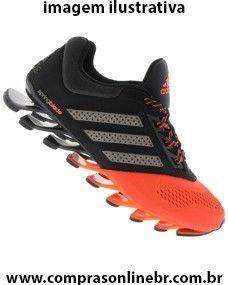 http://www.comprasonlinebr.com.br/adidas-springblade-drive-masculino/ Tênis Adidas Springblade Drive Masculino PRETO e LARANJA ESCURO Calçado para os homens que buscam performance durante treinamentos.