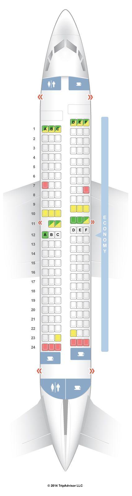 SeatGuru Seat Map Southwest Boeing 737-700 (737)