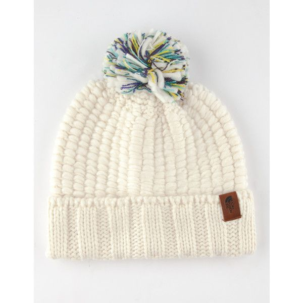 7cfb12981 The North Face Cozy Chunky Beanie ($12) ❤ liked on Polyvore ...