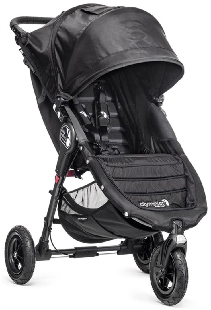 Køb Baby Jogger City Mini GT Single Black/Black   Barnevogne Siddevogne   Barnevogne Klapvogne   Jollyroom