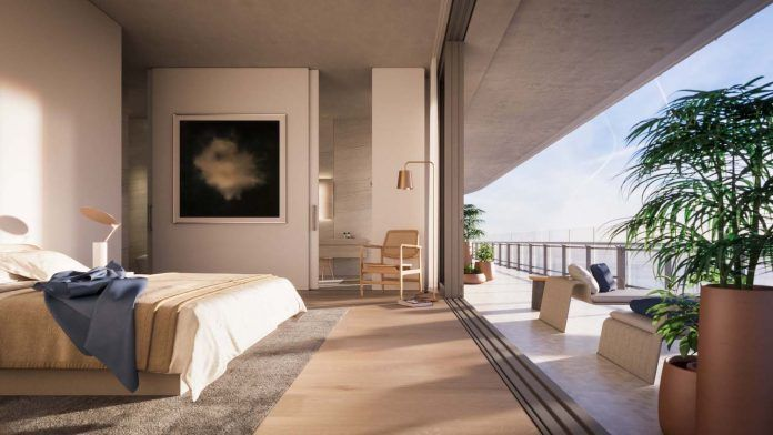 Inside Novak Djokovic's Miami penthouse in Eighty Seven Park by Renzo Piano - CAANdesign   Architecture and home design blog