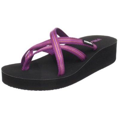Teva Women's Mandalyn Wedge Ola Flip Flop (all different colors) Amazon