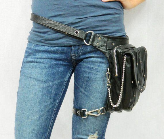 Urban Bling Warrior Pack - Thigh Holster, Shoulder Holster, Handbag, Backpack, Messenger Bag, etc. A great bag for concealed carry.