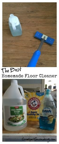 The best homemade floor cleaner, made from all natural ingredients.
