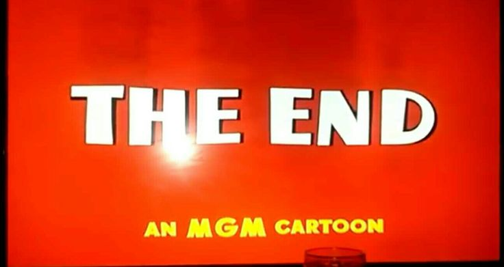 The End An MGM Cartoon
