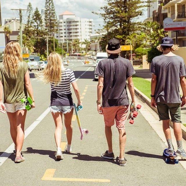 Summertime- Penny Skateboards