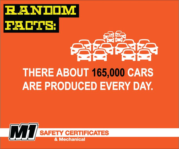 165,000 new cars per day  #carfacts #cars #roadsafety