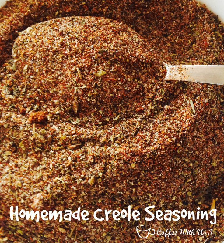 Homemade CreoleCajun Seasoning