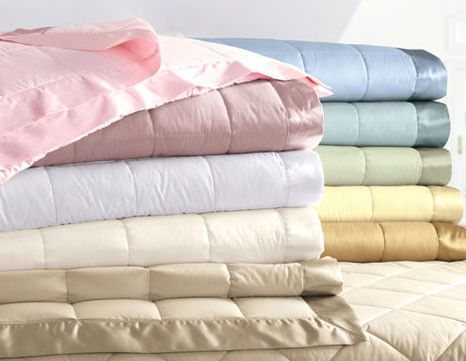 400 Thread Count Sateen Oversized Synthetic Blanket or Throw