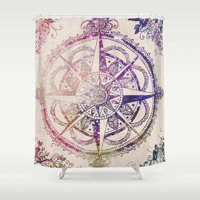 Voyager II Shower Curtain by Jenndalyn - $68.00