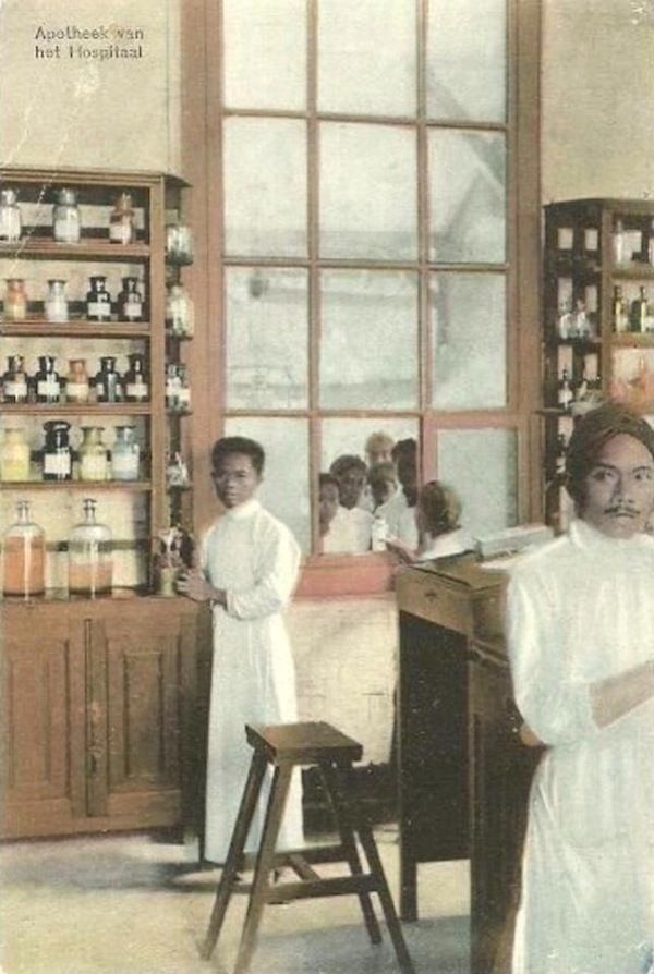 Pharmacy in Java - Circa 1880
