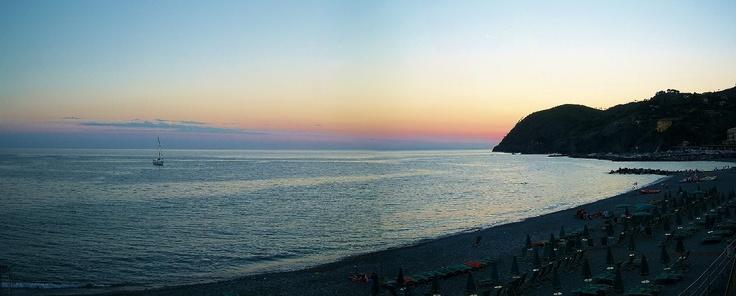 Levanto's sunset