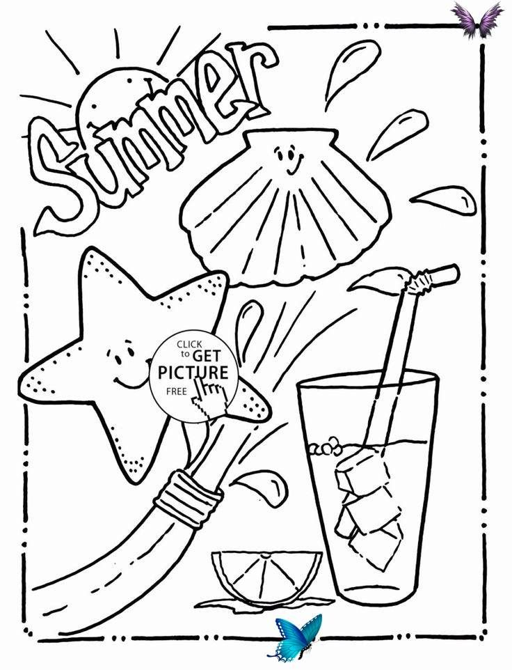 Summer Time Coloring Sheets Lovely Coloring Pages Ideas Amazing Beach Colouring In Pages B In 2020 Summer Coloring Pages Christmas Coloring Pages Animal Coloring Pages