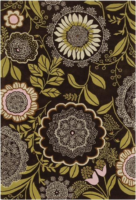 I would love napkins with this print to go with a chocolate brown tablecloth