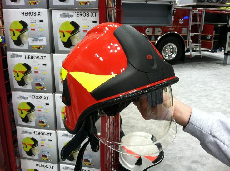 Rosenbauer heros xt fire helmet a new european looking fire helmet