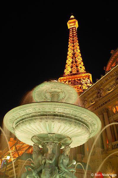 Eiffel Tower and Arc De Triomphe - Paris Hotel and Casino, Las Vegas, NV