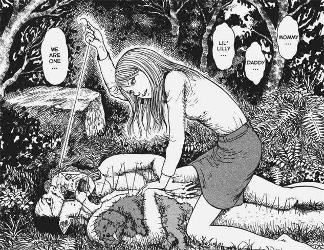 """""""Army of One"""" by Junji Ito : creepy"""