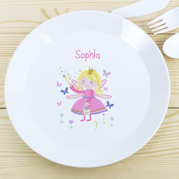Personalised Plastic Drop Proof Dinner Plates for Kids & 7 best Personalised Plastic Dinner Plates for Kids UK images on ...