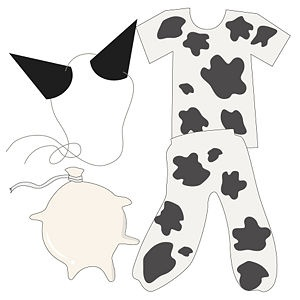 Make a Cow Costume