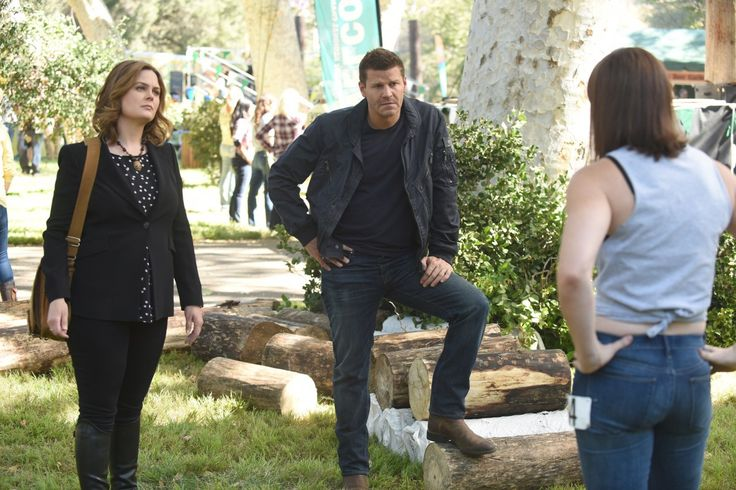 A murder investigation sends the team to a lumberjack competition on Bones Season 12 Episode 6. Here's a sneak peek!