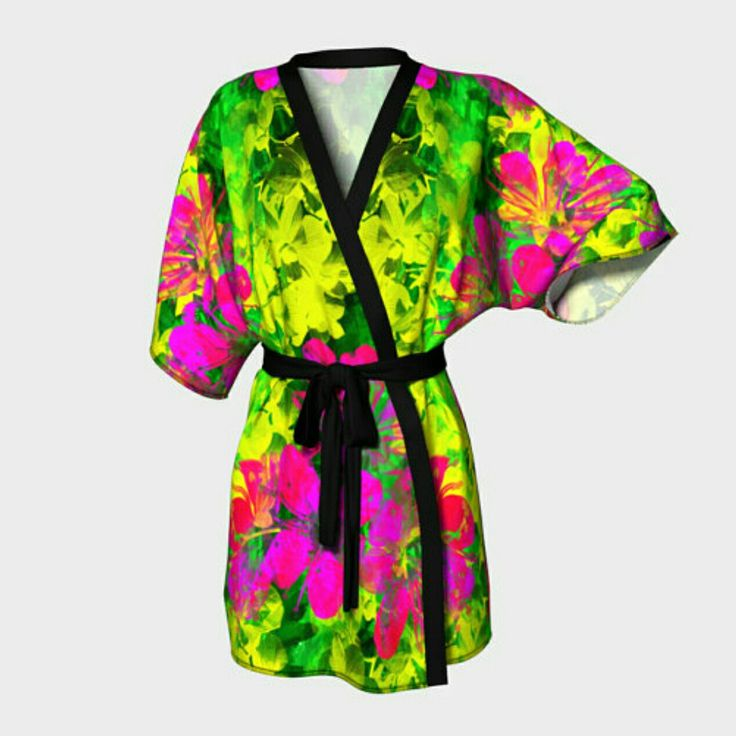 Introducing the latest product line to my store. Kimono robes!!! By Tracey Lee Art Designs