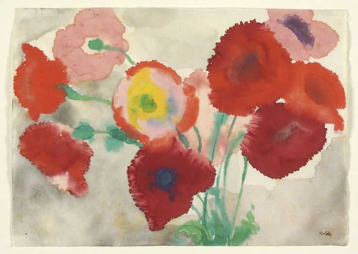 """Emil Nolde, """"Red Poppies"""""""