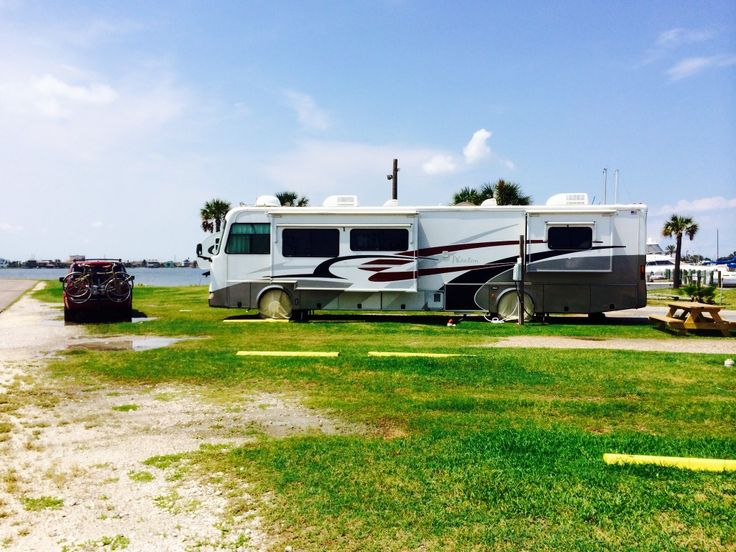 Bayou Shores RV In Galveston Is A Simple Place With Beautiful View No Amenities