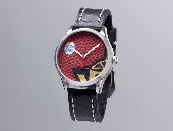 New England Patriots Limited Edition Super Bowl XXXIX Game Used Football Watch