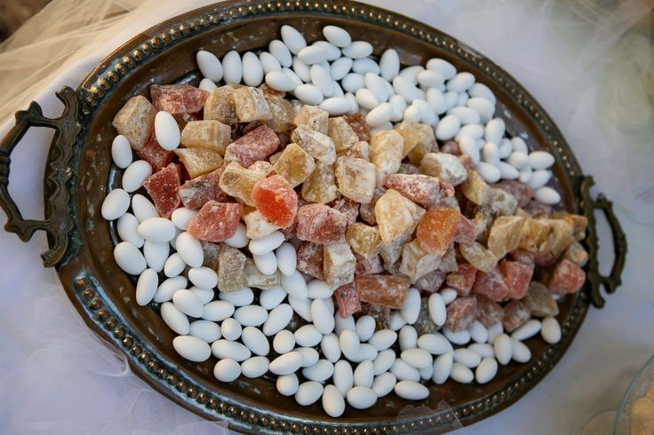 #DreamsInStyle #Greece #Athens #treats #traditional #greekdelights #sugared almonds #greekwedding #weddingplanner  Photo credits: Alexis Kamitsos