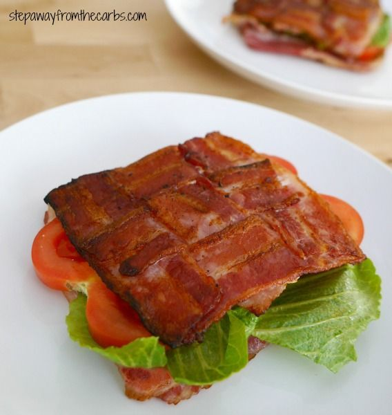 The No Bread BLT - low carb perfection