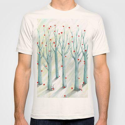 Love+T-shirt+by+Francesca+Cosanti+-+$22.00