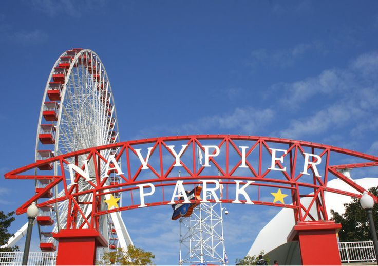 Chicago Navy Pier | Travel Photography di TheItalianWanderer su Etsy