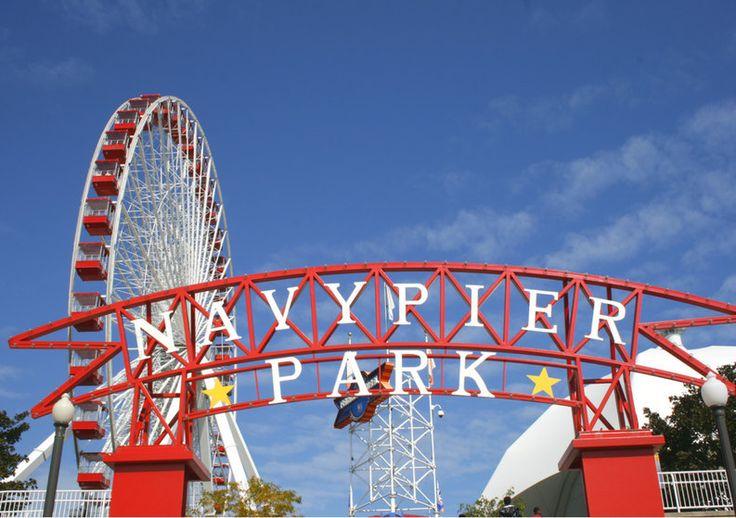 Chicago Navy Pier   Travel Photography di TheItalianWanderer su Etsy