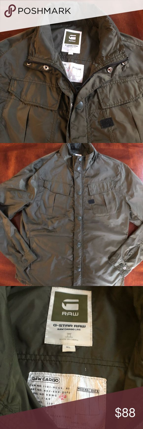 G-STAR Military field coat Men's size XL (may fit smaller) G-Star Raw lightweight Military field coat excellent condition. Very nice cut super comfortable. G-Star Jackets & Coats Military & Field