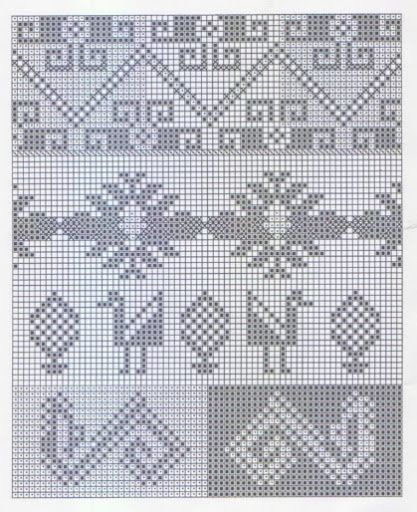 Andean Knitting charts + The Andean Tunics (Met.Museum) - Monika Romanoff - Picasa Web Albums