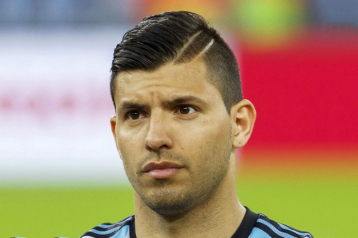 Sergio Kun Aguero Hairstyle 2014