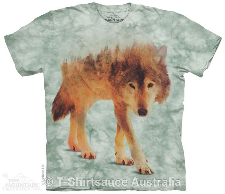 Forest Wolf Adults T-Shirt