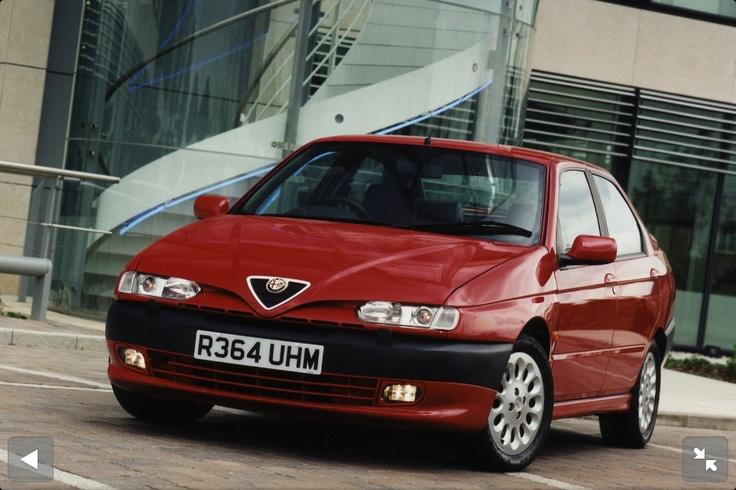 1997 Alfa 145 Twinspark 2 litre. I was in love.