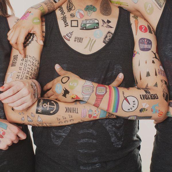 《NO NO NO》 #Tattly tattoos for your bodysuit. Perfect Halloween tip.《NO NO NO NO NO NO NO NO NO NO NO NO 》