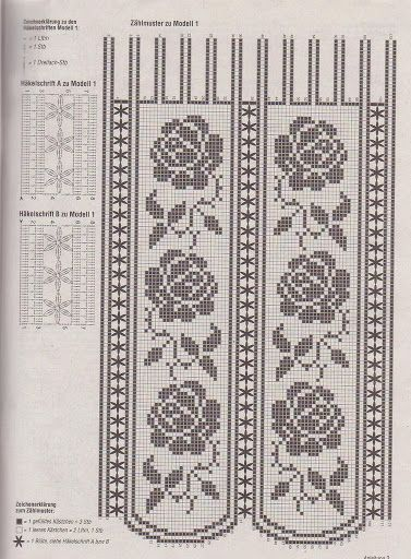 crochet - cortinas - curtains - Raissa Tavares - Picasa Web Albums