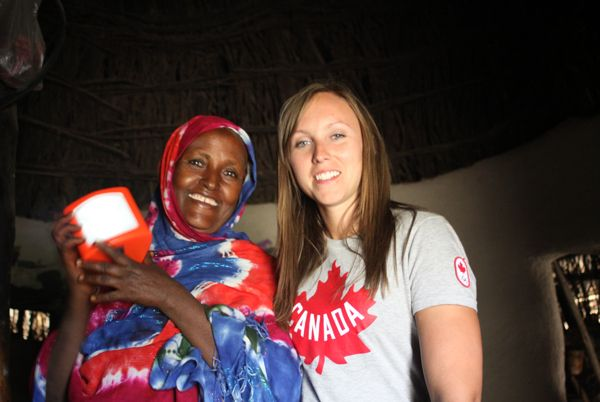 "Rachel Homan in Ethiopia: ""The part that really hit home for me was that all of CHF's projects and success stories have elicited change for the present and for many generations to come."""