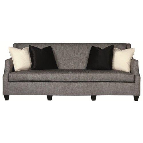 Sofa Beds Bernhardt Interiors Sofas Morgana Sofa with Single Cushion Contemporary Style Baer us Furniture Sofa